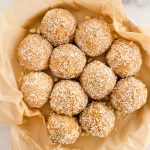 coconut white chocolate macadamia nut energy bites
