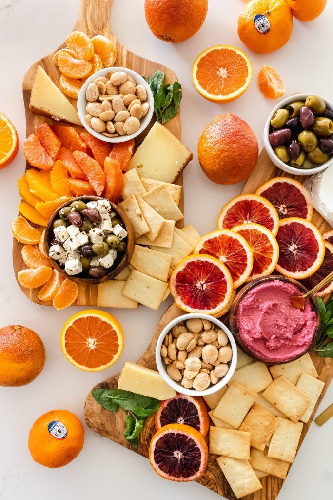 citrus charcuterie board