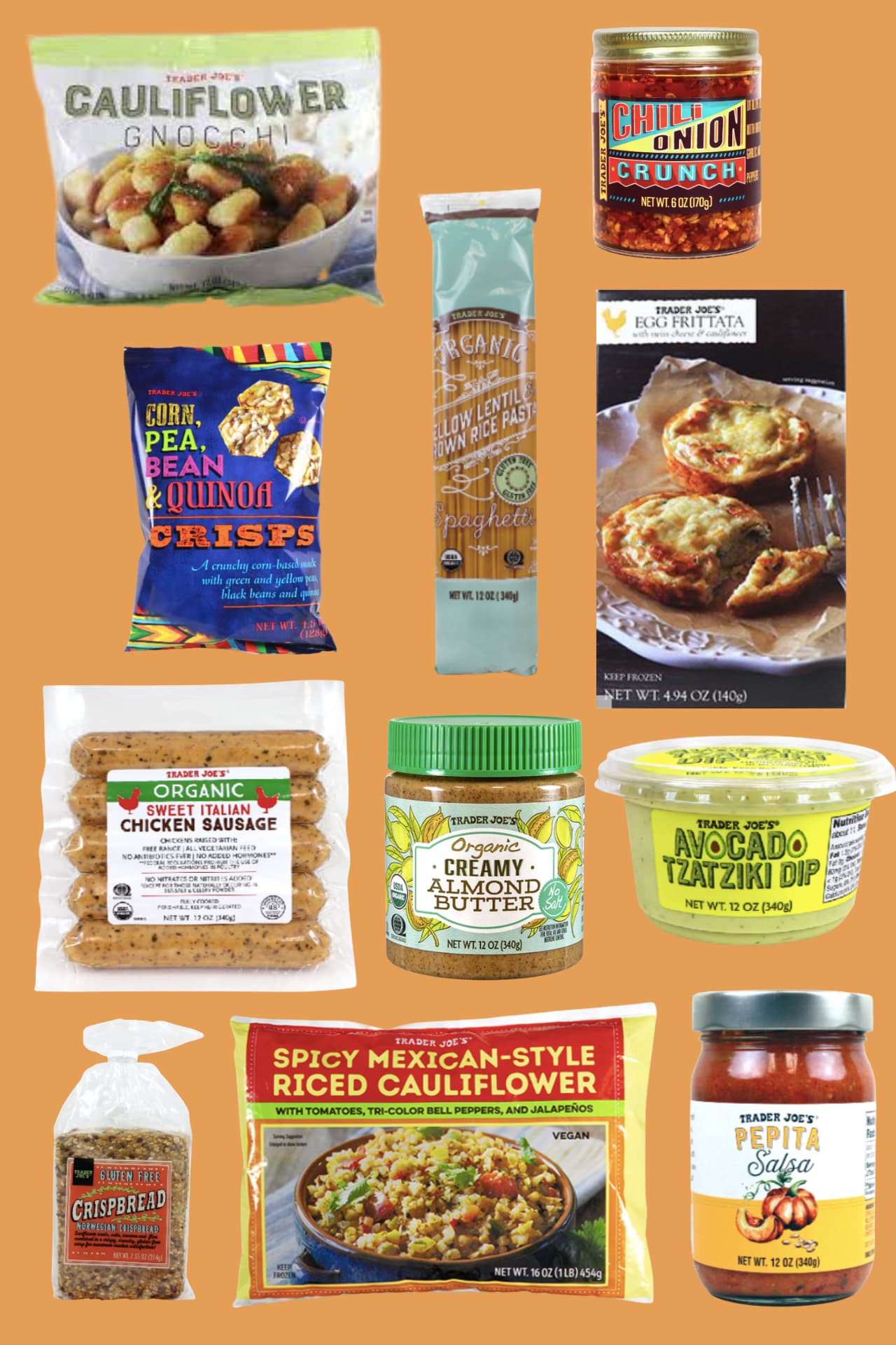 Top Trader Joe's Healthy Foods (+ Shopping List!)