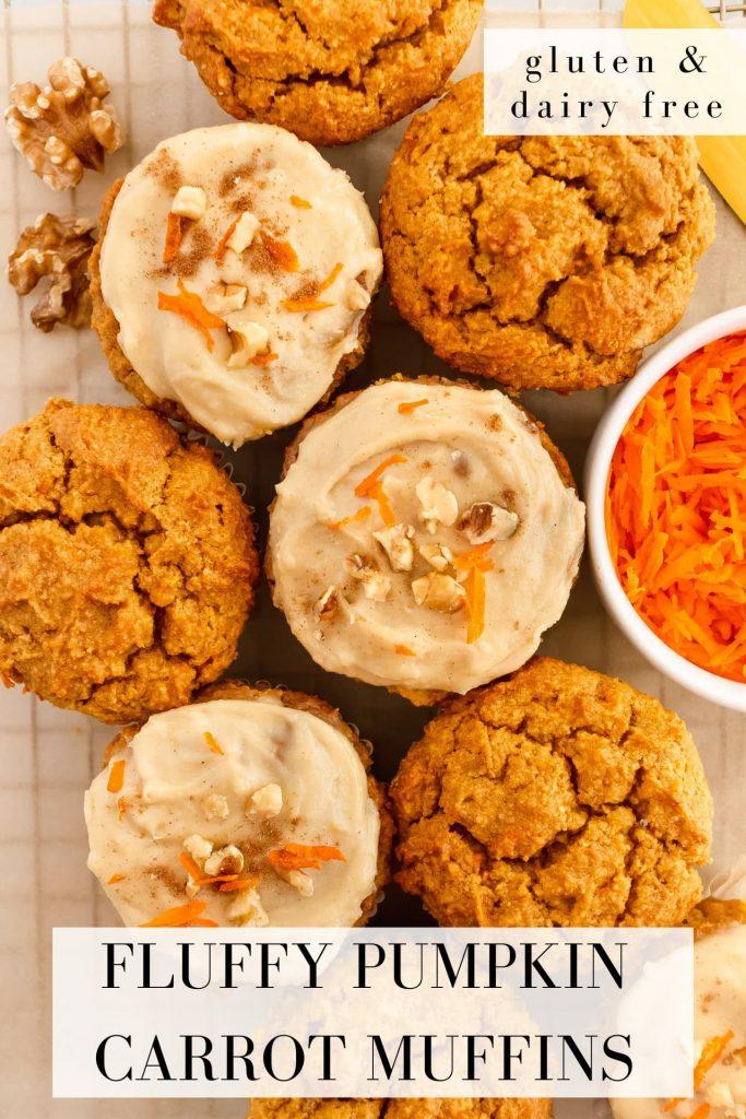 best healthy pumpkin carrot muffins