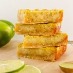 gluten and dairy free coconut matcha lime bars