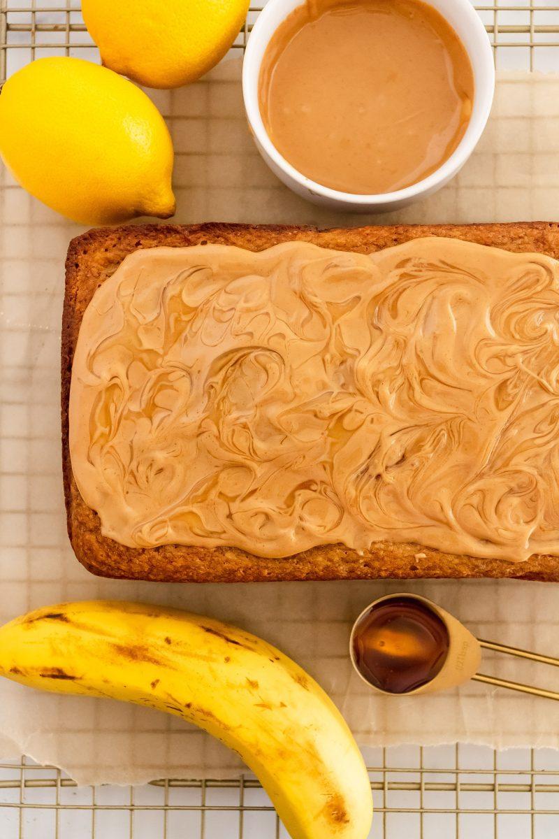 gluten free lemon banana bread