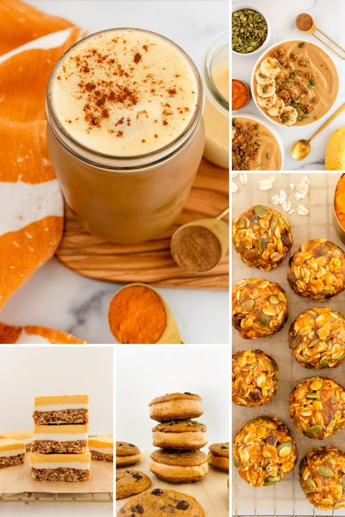 healthy pumpkin recipes for warm weather
