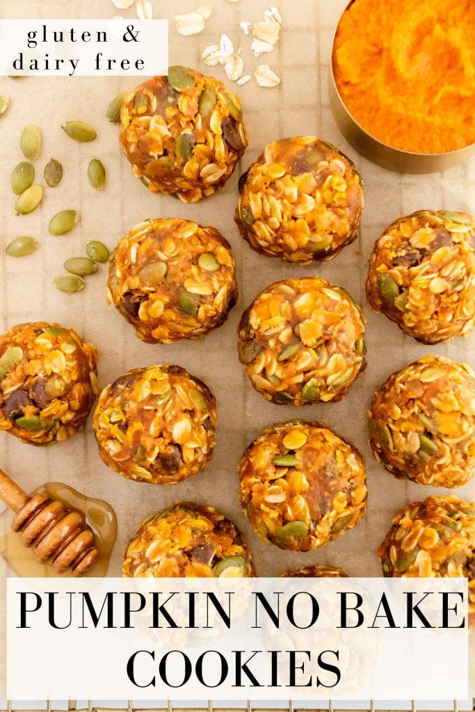 how to make no bake pumpkin cookies