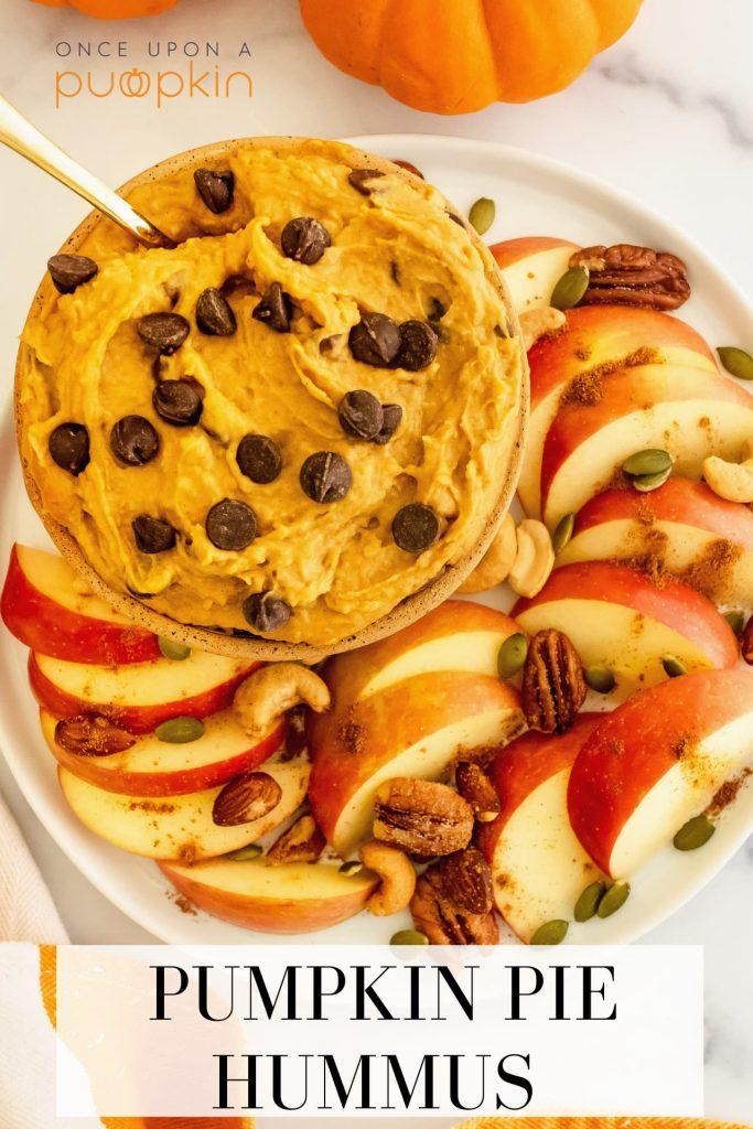 how to make pumpkin pie hummus